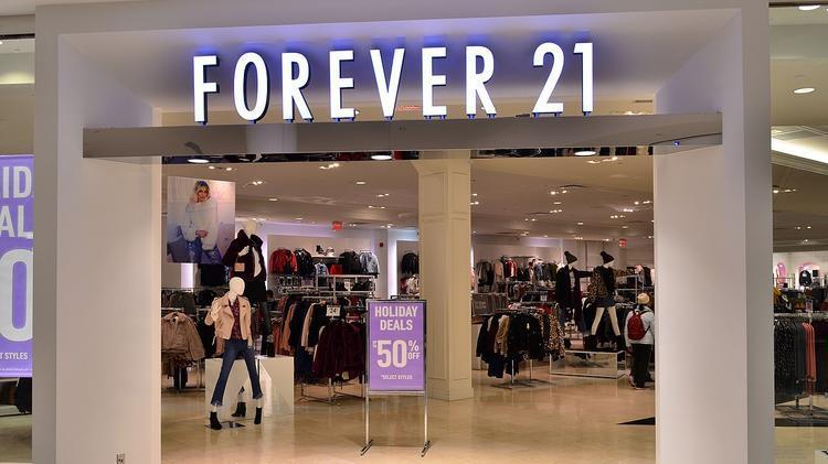 forever 21 nộp đơn bảo hộ phá sản