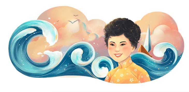 Google Doodle với những logo kỉ niệm những sự kiện, nhân vật Việt Nam