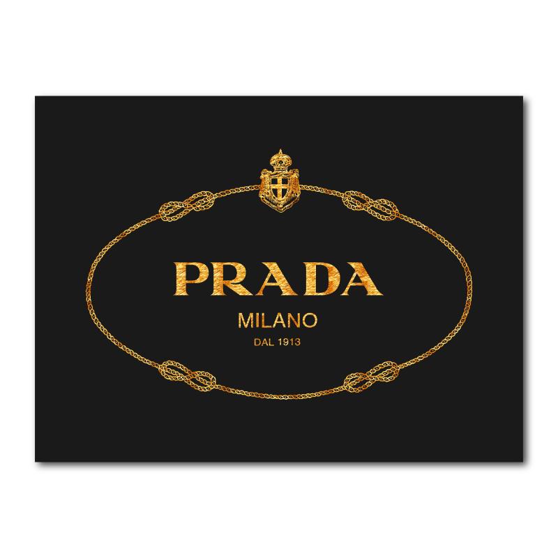 thiết kế logo prada