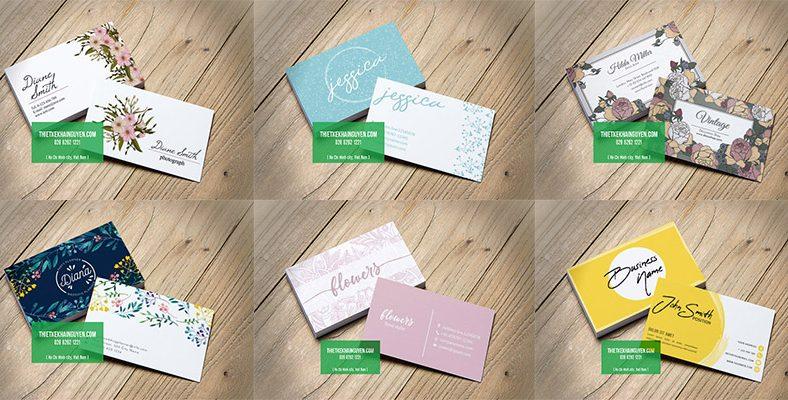 Thiết kế name card chuyên nghiệp với 9 mẹo dưới đây