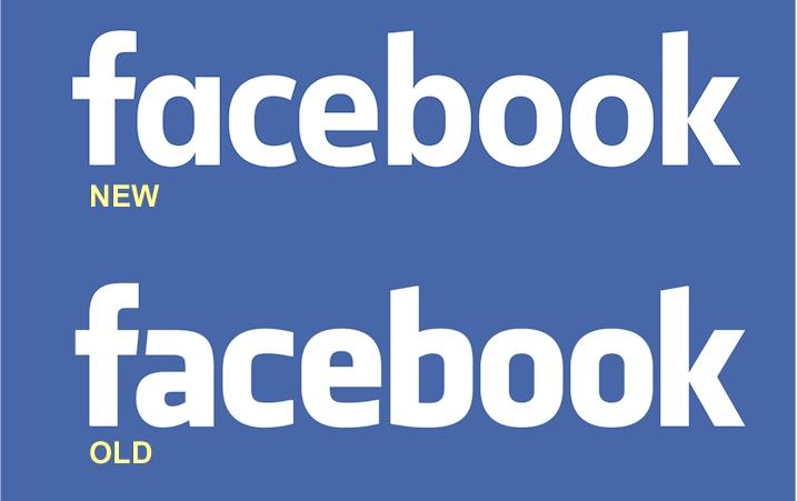facebook thay đổi thiết kế logo