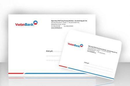 Thiết kế In phong bì thư giá rẻ A3, A4, A5, A6 tại Hà Nội, Bắc Ninh