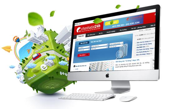 Thiết kế website bất động sản chuyên nghiệp với 6 mẹo hay