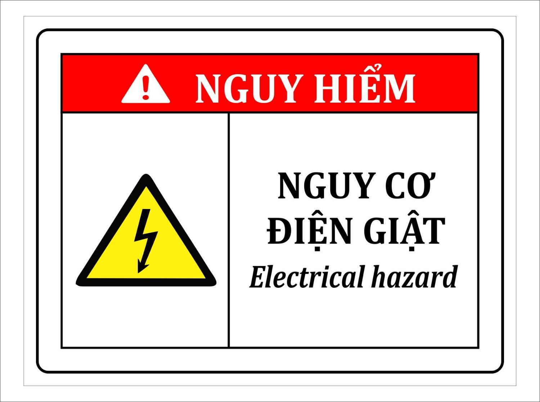 thiết kế biển cảnh báo