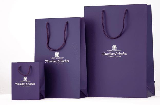 Mẫu thiết kế túi giấy đơn giản
