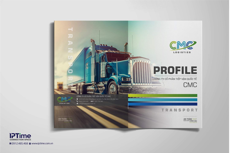 Thiết kế Profile công ty đẹp và ấn tượng