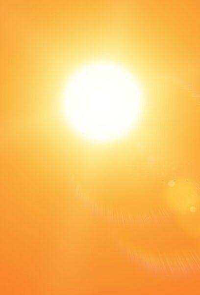 hình ảnh nắng màu cam