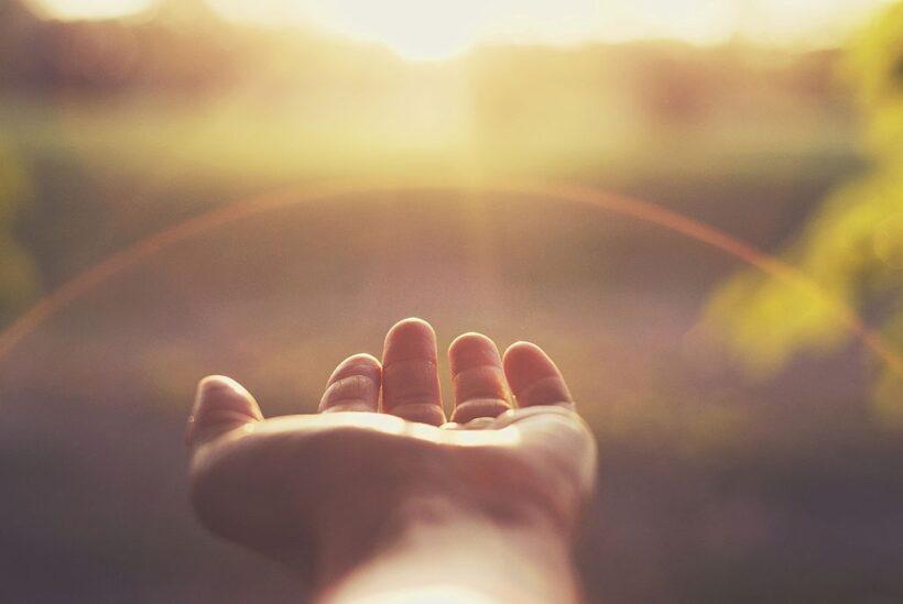 hình ảnh nắng tạo động lực và hy vọng