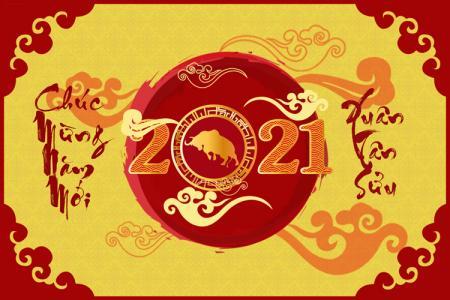 Thiệp chúc tết 2021