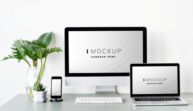 Nguồn Mockup chia sẻ trên mạng không chất lượng