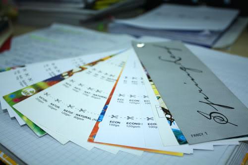 các loại giấy trong in ấn