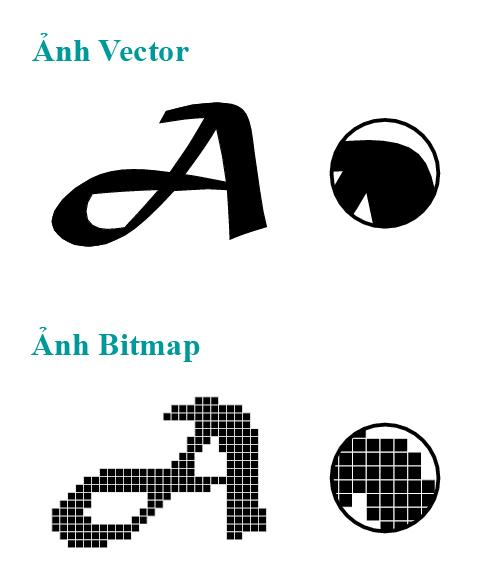 Ảnh vector, ảnh bitmap