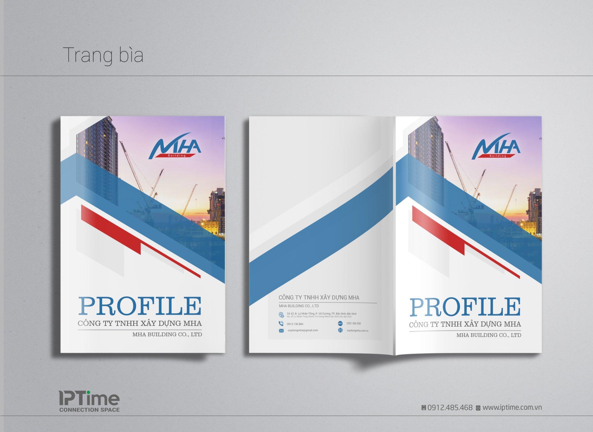 thiết kế profile bắc giang chuyên nghiệp