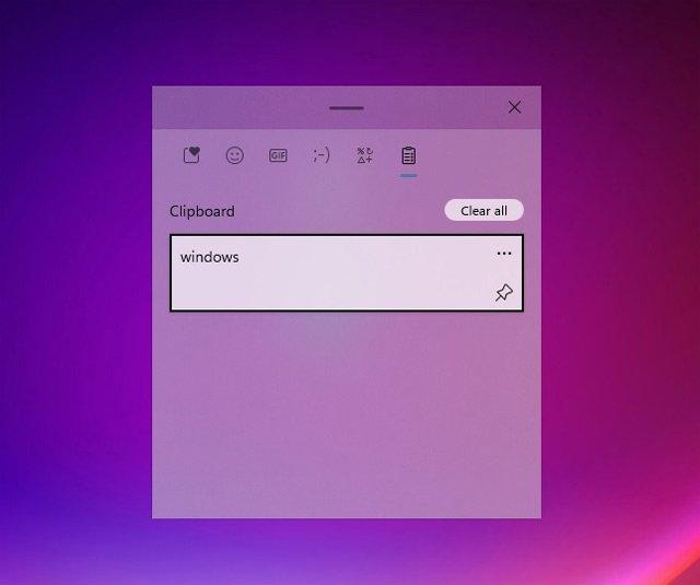 Windows Clipboard