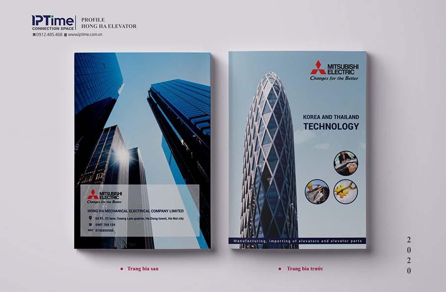 Thiết kế profile công ty xây dựng