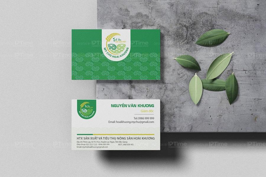 thiết kế name card tại Bắc Ninh