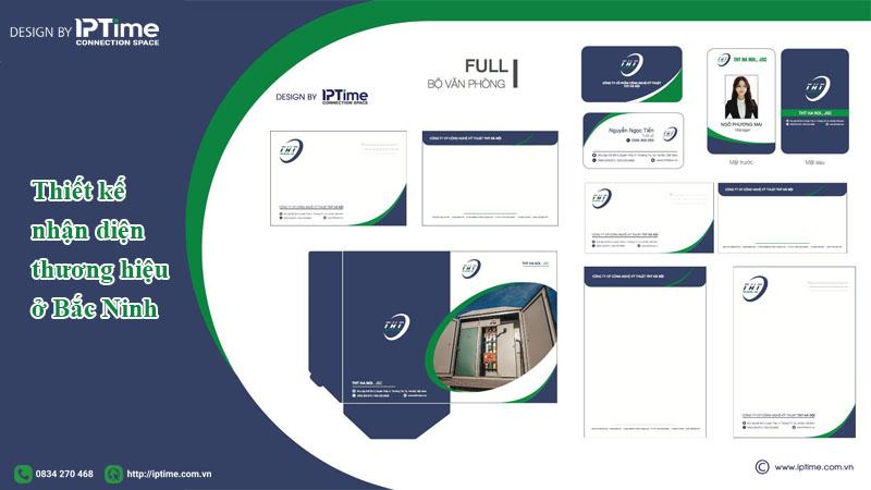 thiết kế nhận diện thương hiệu ở Bắc Ninh uy tín
